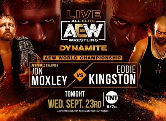 Jon Moxley To Defend The AEW World Championship On Tonight's Dynamite