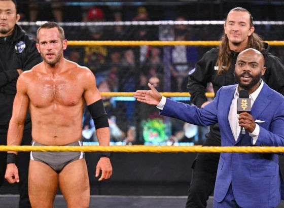 Roderick Strong Told His Mother He'd Quit WWE NXT