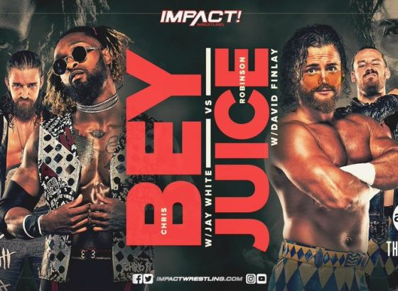 Chris Bey Vs. Juice Robinson Announced For IMPACT