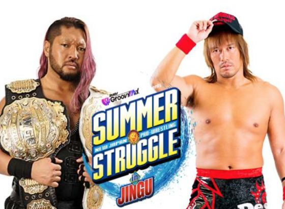 2 Championship Matches Added To NJPW Summer Struggle In Jingu Card