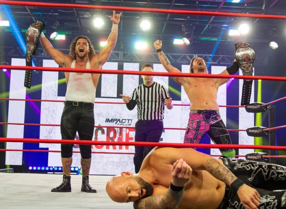 Tag Team Title Match Set For IMPACT: Rebellion 2021