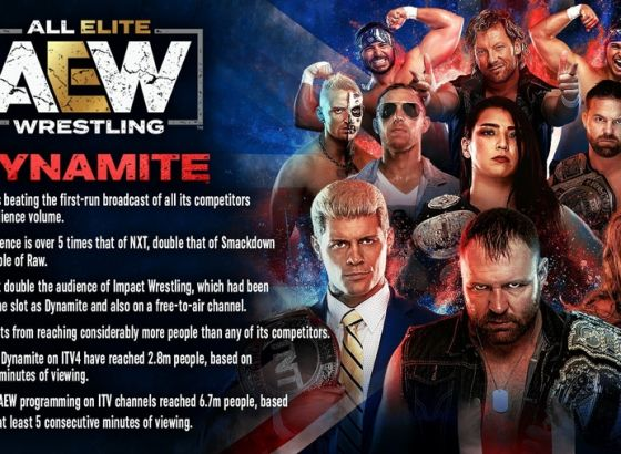 Cody Reacts To AEW: Dynamite's UK TV Ratings