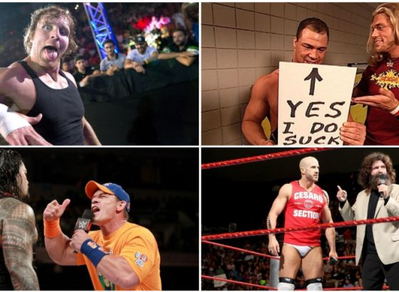 Kurt Angle Likes To Suck & The Origin Of The Titty Master: Ten Things You May Have Missed In Wrestling This Week