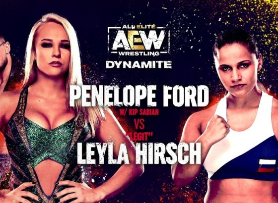Penelope Ford To Replace Nyla Rose On AEW: Dynamite