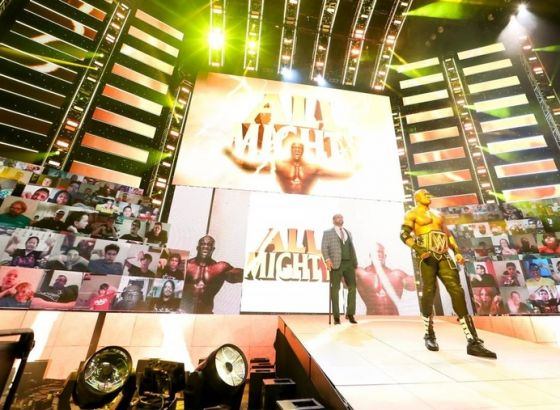 WWE Lead Production Designer Says New Show Sets Are Being Built