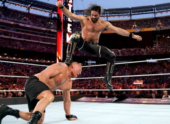 """Seth Rollins """"Hurt"""" By Not Main Eventing WWE WrestleMania 35"""