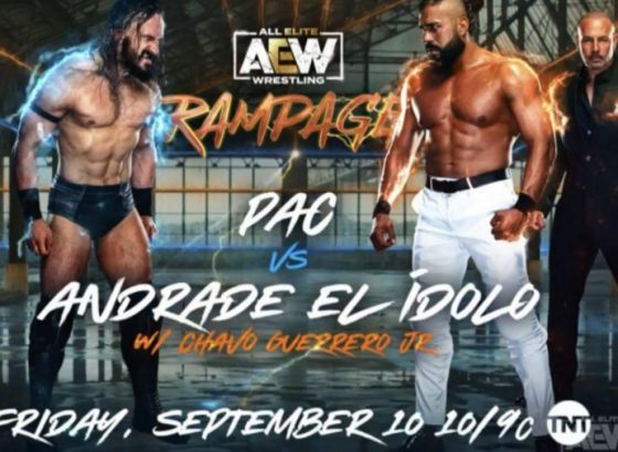 Pac Vs. Andrade El Idolo Rescheduled For 9/10 AEW Rampage