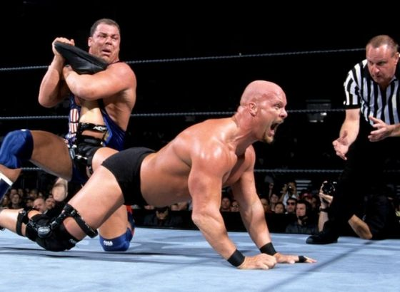 """Kurt Angle: Why WWE Tried To Avoid Showing """"Stone Cold"""" Steve Austin's Bottom Half On TV In 2001"""