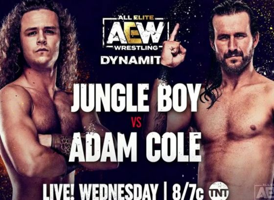 Jungle Boy Vs Adam Cole, Two Other Matches Added To 9/29 AEW Dynamite
