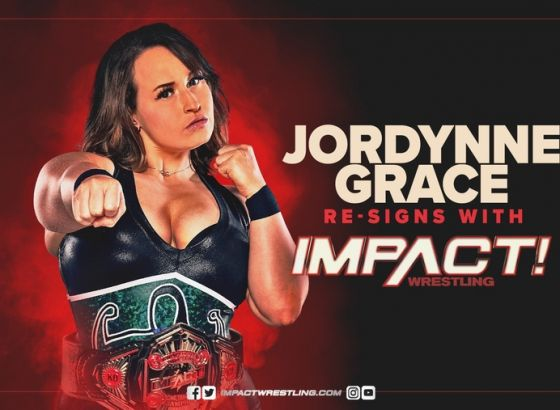 Jordynne Grace Re-Signs With IMPACT Wrestling