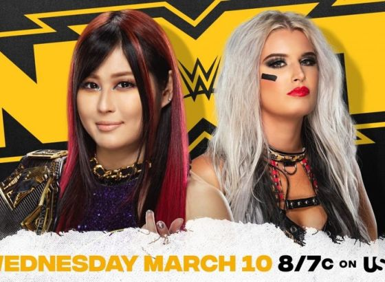 WWE NXT Women's Championship Match Set for March 10