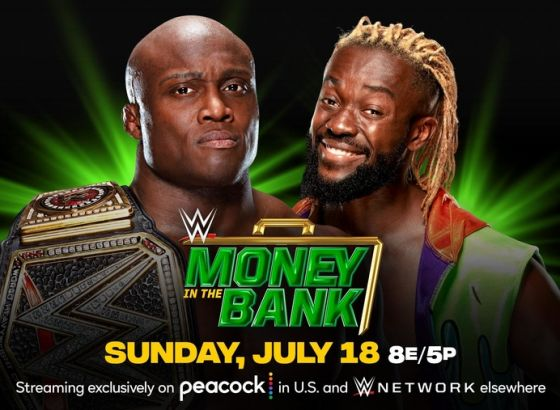 WWE Championship Match Set For Money In The Bank 2021