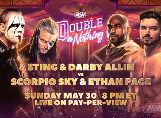 Sting Returning To In-Ring Action At AEW Double Or Nothing 2021
