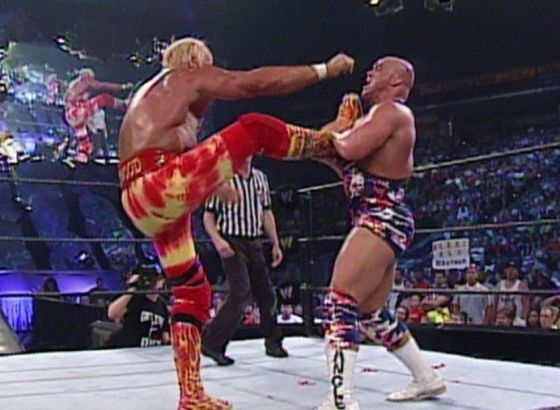 Kurt Angle Recalls Stiffing Hulk Hogan During WWE Show At Madison Square Garden