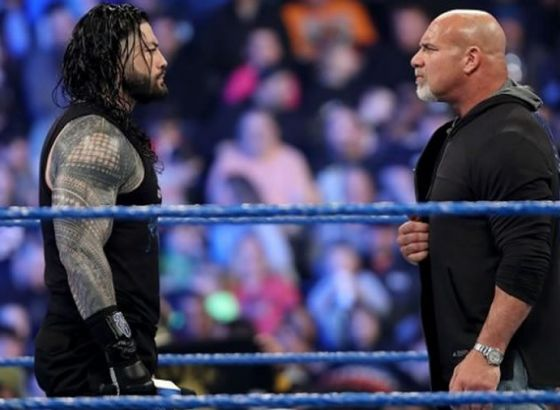 "WWE Hall Of Famer Goldberg Calls Roman Reigns ""A Joke"""