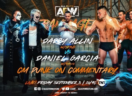 CM Punk To Join Commentary For Darby Allin's AEW Rampage Match