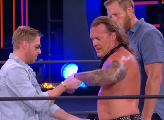 Chris Jericho Calls Match With Orange Cassidy One Of His Best Matches In AEW