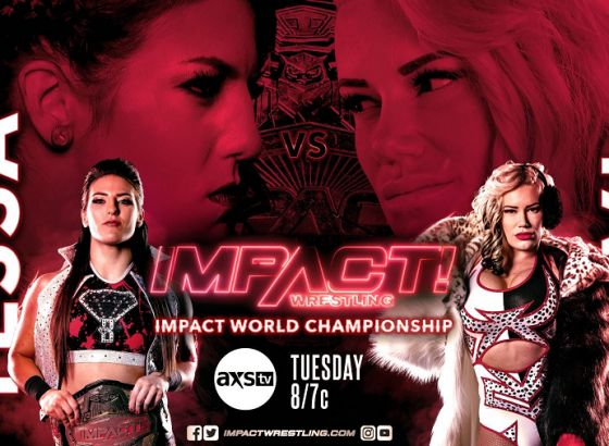 History Making Match Announced For Next Week's Episode Of IMPACT Wrestling