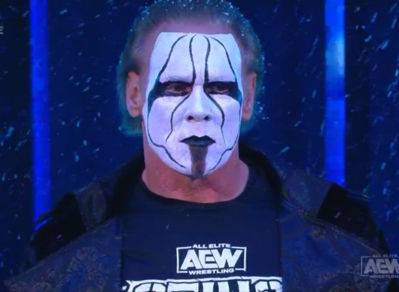 Report: Sting Signed With AEW Due To Unhappiness With WWE Run