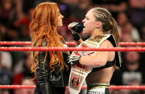 "WWE Raw Women's Champion Becky Lynch On Ronda Rousey: ""Leave Her At Home"""