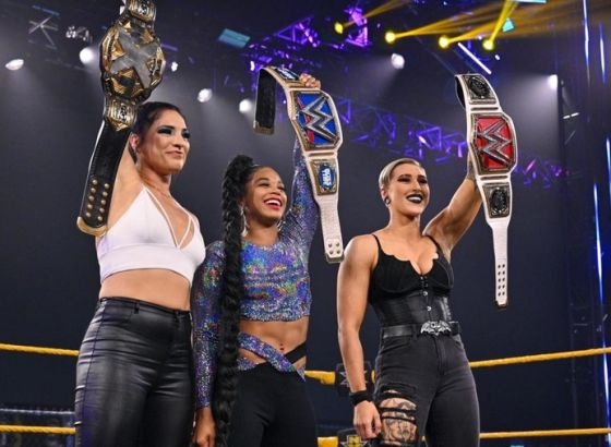Rhea Ripley Reveals Triple H Pitched Champions' Salute On WWE NXT