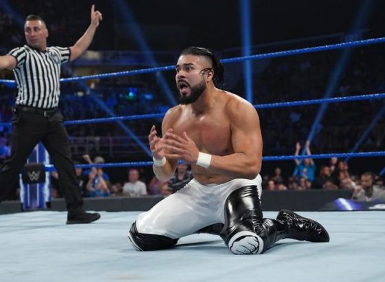 Andrade Wanted WWE Match With Triple H