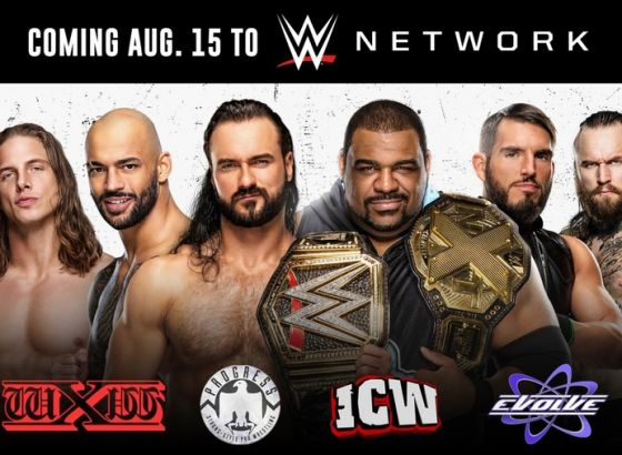 Content From EVOLVE, PROGRESS Wrestling, WXW And ICW Being Added To The WWE Network Later This Week