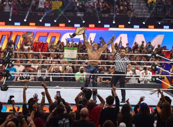 Damian Priest: Goldberg & Edge Congratulated Me On United States Title Win At WWE SummerSlam 2021