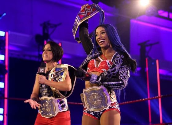 Ember Moon Is Unhappy About Bayley And Sasha Banks Being Double Champions In WWE