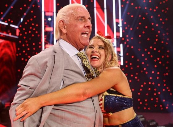 Ric Flair Admits He Was Uncomfortable With Lacey Evans Storyline In WWE