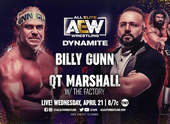 Billy Gunn Match Added To AEW: Dynamite