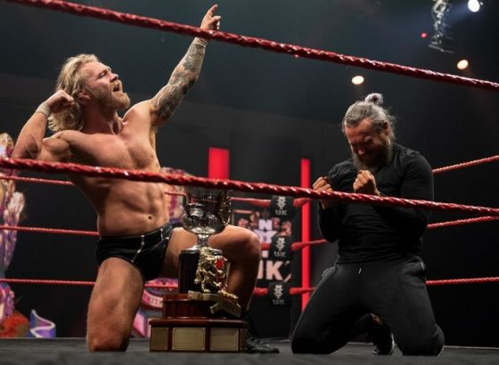 Tyler Bate Wins The NXT UK Heritage Cup Championship
