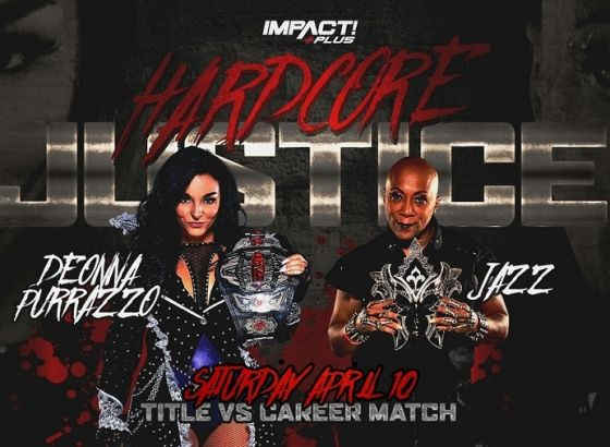 Title Vs. Career Match Set For IMPACT Hardcore Justice