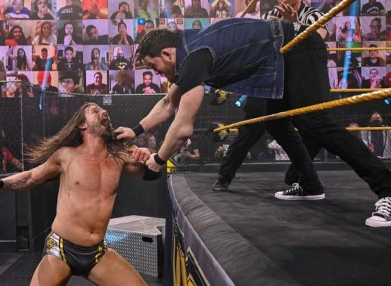 Kyle O'Reilly Re-Aggravates Neck Injury After Adam Cole Attack On WWE NXT