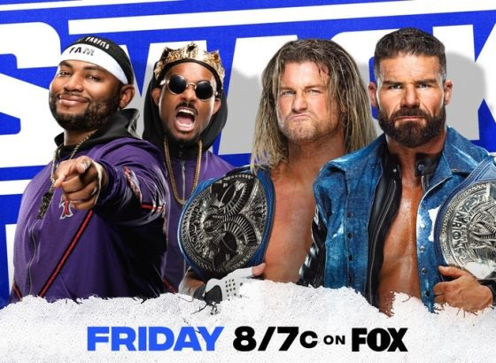 Tag Team Championship Match Set For WWE Smackdown