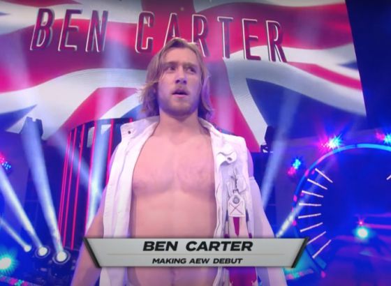 AEW's Ben Carter Reveals He Tested Positive For COVID-19