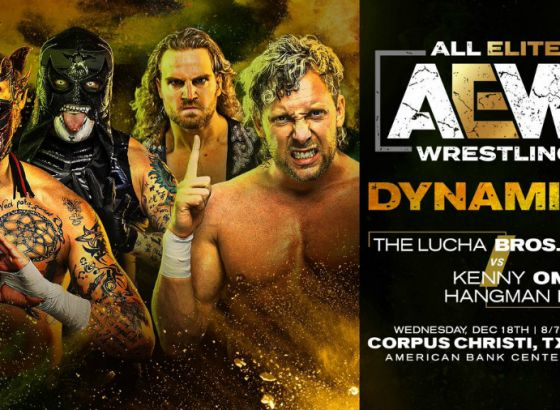 Lucha Brothers Vs. Hangman Page And Kenny Omega To Open Wednesday's AEW Dynamite