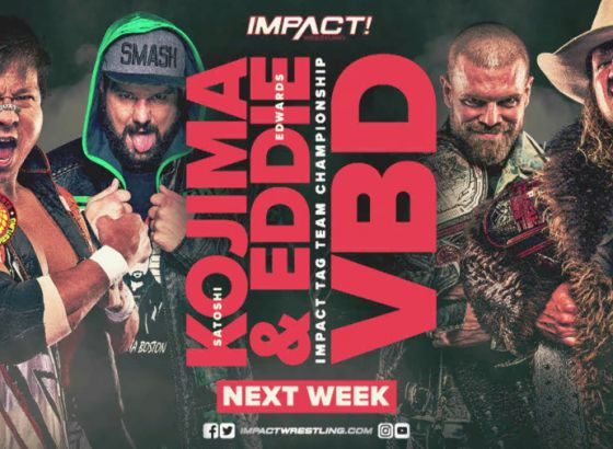 Tag Team Title Match Set For June 24 IMPACT Wrestling