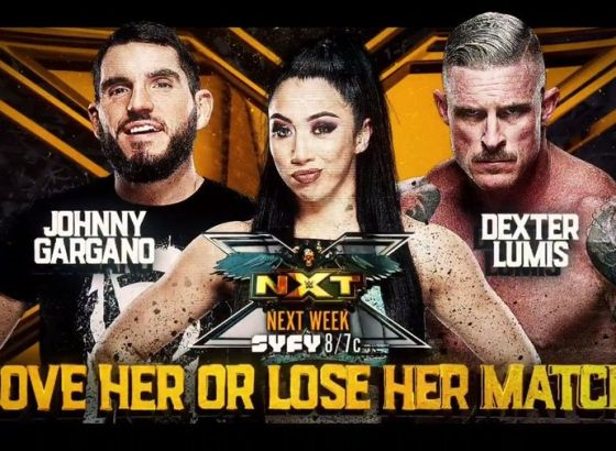 'Love Her Or Lose Her' Match Set For August 3 WWE NXT