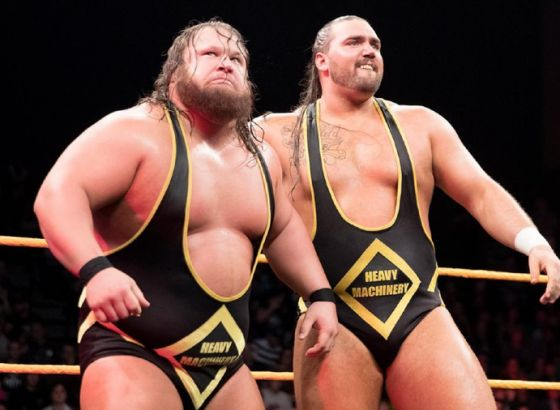 Tucker: Heavy Machinery Didn't Win The Tag Team Title In WWE Because We Got Over On Our Own