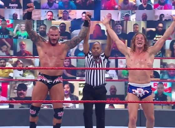 Randy Orton Didn't Like Riddle When He First Met Him At WWE Raw
