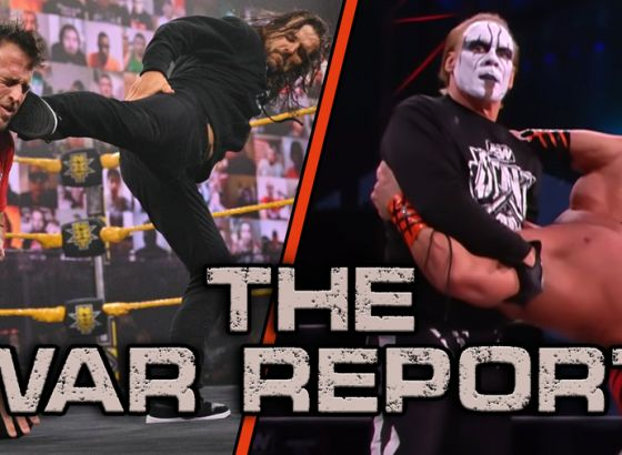 The War Report - February 24 2021: Sting And Darby Strike Back