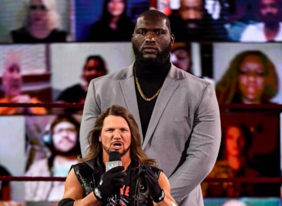 Jordan Omogbehin Returns To WWE Raw As AJ Styles' Bodyguard