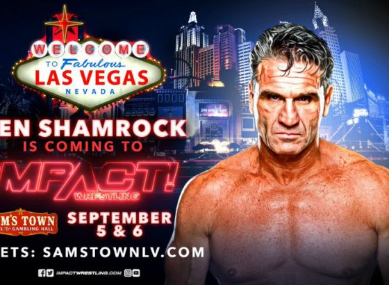Ken Shamrock Returning To Impact Wrestling At Vegas Tapings