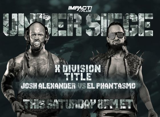Title Matches Set For IMPACT Wrestling Under Siege