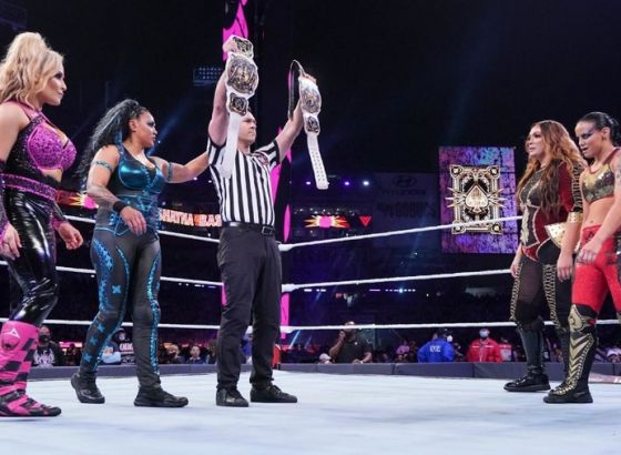 Report: Women's Tag Team Title Match Overran At WWE WrestleMania 37