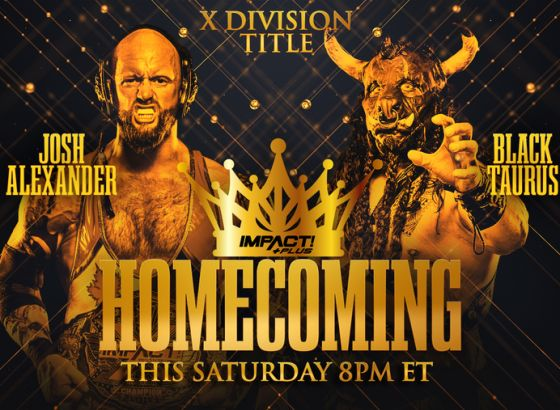 X-Division Championship Match Set For IMPACT Homecoming