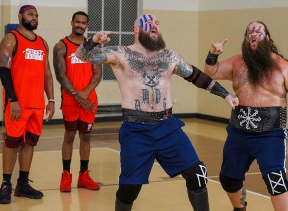 The Viking Raiders And The Street Profits To Face Off In An Axe-Throwing Contest On WWE Raw