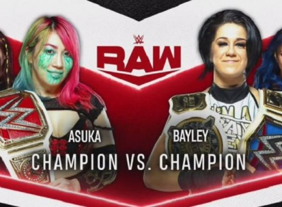Asuka Vs. Bayley Announced For Monday's WWE Raw