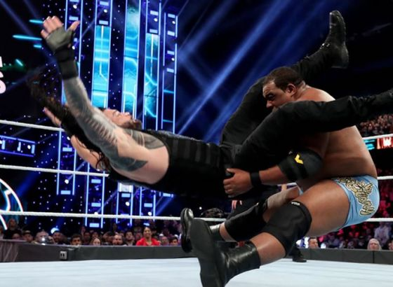 """WWE SmackDown's Roman Reigns To NXT's Keith Lee: """"I Want A One-On-One Match Against You"""""""
